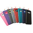 رخيصةأون حافظات / جرابات هواتف جالكسي J-غطاء من أجل Samsung Galaxy Galaxy S10 ضد الصدمات / ضد الغبار غطاء خلفي لون سادة TPU