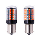 cheap HID & Halogen Lights-2pcs P21W PY21W T20 W21W 7440 Turn Signal Light S25 144 SMD Canbus ERROR FREE Car Bulb Brake lamp12-24v