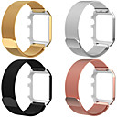 رخيصةأون أساور ساعات هواتف أبل-حزام إلى Apple Watch Series 4 / Apple Watch Series 4/3/2/1 Apple عقدة ميلانزية ستانلس ستيل شريط المعصم