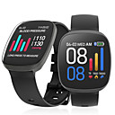 povoljno Testeri i detektori-X10 Muškarci Smart Satovi Android iOS Bluetooth Vodootporno Ekran na dodir Heart Rate Monitor Mjerenje krvnog tlaka Sportske Štoperica Brojač koraka Podsjetnik za pozive Mjerač aktivnosti Mjerač sna