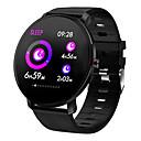 preiswerte PS4 Zubehör-Uhr Smartwatch digital Moderner Stil Sportlich Stilvoll Silikon 30 m Wasserdicht Herzschlagmonitor Bluetooth digital Freizeit Draußen Schwarz Schwarz / Gelb Schwarz / Grau