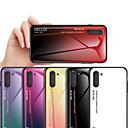 voordelige Galaxy Note-serie hoesjes / covers-gradiënt gehard glazen behuizing voor Samsung Galaxy Note 10 Note 10 Pro Note 9 Note 8 Cover Beschermende Fundas TPU Edge