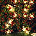 povoljno LED svjetla u traci-2.5m Žice sa svjetlima 20 LED diode Toplo bijelo Ukrasno 5 V 1set