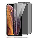 رخيصةأون أغطية أيفون-حامي الشاشة ل iphone x / xs / xr / xs max الخصوصية المضادة للتجسس الزجاج المقسى 1 PC حامي الشاشة الأمامية عالية الوضوح (HD) / 9H صلابة
