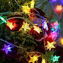 povoljno LED svjetla u traci-3m svjetlosni svjetlosni pentagram 20 svjetiljki 20 boja višebojni ukrasni dom 3v 1set
