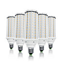 ieftine LED-uri-loende 5 pachet 60w leduri de porumb 6000 lm e26 / e27 t 160 led mărgele smd 5730 alb cald alb 85-265 v