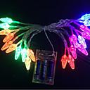 povoljno LED svjetla u traci-3M Žice sa svjetlima 20 LED diode Više boja Ukrasno 3 V 1set