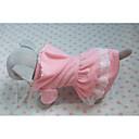 povoljno Odjeća za psa i dodaci-Mačka Pas Kostimi T-majica Izgledi Odjeća za psa Prozračnost Pink Kostim Pamuk Srce Lubanje Cosplay Halloween XS S M L