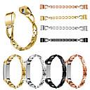 povoljno Modne ogrlice-za fitbit alta / alta hr x dijamant modni remen od nehrđajućeg čelika narukvicu za ručni pojas