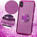 رخيصةأون حافظات / جرابات هواتف جالكسي S-حافظة لهاتف samsung galaxy a6 (2018) / a6 (2018) / a8 2018 / a8plus 2018 / note 9 / note8 / s10plus / s9 / s8plus rhinestone / ring back cover cover glitter shine tpu