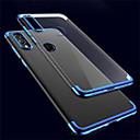 رخيصةأون Huawei أغطية / كفرات-غطاء من أجل Huawei Huawei P20 / Huawei P20 Pro / Huawei P20 lite ضد الصدمات / نحيف جداً / شفاف غطاء خلفي لون سادة / شفاف TPU