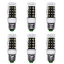 رخيصةأون أضواء LED ذرة-6PCS 7 W أضواء LED ذرة 700 lm E14 G9 GU10 T 56 الخرز LED مصلحة الارصاد الجوية 4014 تصميم جديد أبيض دافئ أبيض 220-240 V 110-120 V