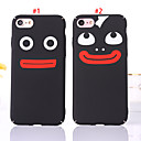 cheap Galaxy Core 2-Case For Apple iPhone 8 Plus / iPhone 8 / iPhone 7 Plus Dustproof / Pattern Back Cover Solid Colored / Cartoon PC