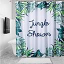 رخيصةأون أدوات الحمام-ستائر الدش زهري البوليستر مصنوع بالماكينة ضد الماء حمام