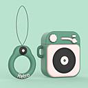 billige AirPods Cases-Etui Til AirPods Støtsikker / Støvtett / Mønster Headphone Case Myk