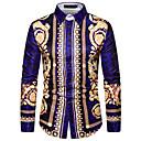 povoljno Men's Winter Coats-Majica Muškarci - Osnovni Dnevno Color block Duga