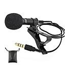 povoljno Mikrofoni-audio mikrofoni 3,5 mm priključak za utičnicu clip-on lavalier mic stereo mini ožičeni vanjski mikrofon za mobilni telefon
