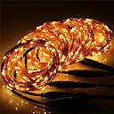 رخيصةأون شواحن USB-10m أضواء سلسلة 100 المصابيح أبيض دافئ / RGB / أبيض ضد الماء / تصميم جديد / حزب 12 V 5pcs