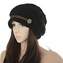 ieftine Pălării Femei-Pentru femei Bloc Culoare Petrecere De Bază Cute Stil,Îmbrăcăminte tricotată-Floppy Toamnă Iarnă Negru Alb Roz Îmbujorat
