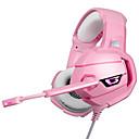 povoljno Pravi bežični uš-litbest k5 led slušalice sa mikrofonom sa mikrofonom za ps4 pc pink warrior gamer
