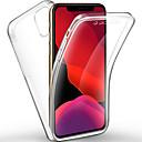 رخيصةأون أغطية أيفون-غطاء من أجل Apple اي فون 11 / iPhone 11 Pro / iPhone 11 Pro Max شفاف غطاء كامل للجسم لون سادة TPU / الكمبيوتر الشخصي