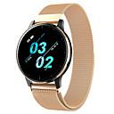 levne Chytré náramky-q20 chytré hodinky bt fitness tracker podpora oznamování / sledování srdeční frekvence sport z nerezové oceli smartwatch kompatibilní iphone / samsung / android telefony
