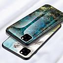 رخيصةأون أغطية أيفون-حالة من الزجاج المقسى من رخام لهاتف iPhone 11 pro / iphone 11 / iphone 11 pro max / iphone xs max xr xs x 8 plus 8 7 plus 7 6 plus 6 الغطاء الخلفي للصدمات سيليكون لينة tpu edge واقية