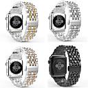 رخيصةأون أساور ساعات هواتف أبل-حزام إلى Apple Watch Series 4 / Apple Watch Series 4/3/2/1 / Apple Watch Series 3 Apple عصابة الرياضة / عقدة ميلانزية / الفرقة التجارية ستانلس ستيل شريط المعصم