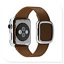 رخيصةأون ساعات ذكية-حزام إلى Apple Watch Series 4 / Apple Watch Series 3 Apple عصابة الرياضة جلد طبيعي شريط المعصم
