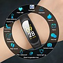 abordables Relojes Inteligentes-Reloj elegante Digital Silicona Resistente al Agua Monitor de Pulso Cardiaco Bluetooth Digital Moda - Negro Rojo Azul