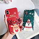 voordelige iPhone-hoesjes-hoesje Voor Apple iPhone 11 / iPhone 11 Pro / iPhone 11 Pro Max Ringhouder / Patroon Achterkant Kerstmis TPU