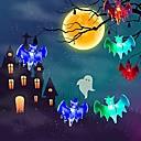 povoljno LED svjetla u traci-3m svjetla za šišmiš 20 svjetiljki 20 boja multi boja halloween horor bar party ukras 3v 1set