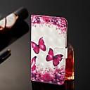 voordelige iPhone-hoesjes-hoesje voor Apple iPhone 11 / iPhone 11 pro / iphone 11 pro max portemonnee / kaarthouder / met standaard full body hoesjes rose red butterfly pu leer voor iphone x / xs / xr / xs max / 8 plus / 6s