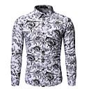 povoljno Muški sakoi i odijela-Majica Muškarci - Osnovni Dnevno Cvjetni print / Geometrijski oblici Obala