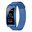 povoljno Testeri i detektori-kupeng f28 pametni narukvicu bluetooth bluetooth nehrđajući čelik fitness tracker podrška obavijesti / monitor brzine otkucaja sporta vodootporan smartwatch kompatibilan samsung / iphone / android