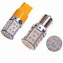 olcso HID és halogén izzók-2db ba15s (1156) / bau15s / 7440 autó izzók smd 3030 35 led-irányjelző lámpák / fékfények / hátrameneti lámpák (tartalék) lámpák minden évben