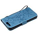 رخيصةأون Huawei أغطية / كفرات-غطاء من أجل Huawei Honor 9 / Honor 8 / Huawei Honor 7C(Enjoy 8) حامل البطاقات غطاء كامل للجسم نموذج هندسي جلد PU / الكمبيوتر الشخصي