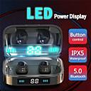 voordelige Autokoplampen-LITBest LX-H01 TWS True draadloze hoofdtelefoon Draadloos EARBUD Bluetooth 5.0 Ruisonderdrukking met microfoon Met laadbak