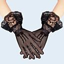 ieftine Mănuși & Mănuși 1 deget-Dantelă Lungime Încheietură Mănușă Dantelă / Mănuși Cu Terminaţii