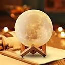 رخيصةأون أدوات الفرن-القمر مصباح led ضوء الليل 3d غلوب سطوع usb شحن قابلة ديكور المنزل للطفل كيد السنة الجديدة هدية عيد خشبي حامل 12 سنتيمتر 4.7 بوصة