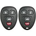 voordelige Autoladers-keyless entry afstandsbediening autosleutelzakje chevrolet vervanging 22733523 15252034 kobgt04a