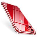 رخيصةأون أغطية أيفون-غطاء من أجل Apple اي فون 11 / iPhone 11 Pro / iPhone 11 Pro Max ضد الصدمات غطاء خلفي شفاف TPU