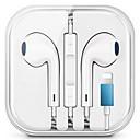 ieftine Aurii cu fir cu fir-Căști hibrid stereo cu cablu stereo pentru iPhone 7 8 plus căști x x x x max cu microfon și control audio
