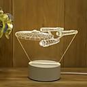 povoljno Mikroskopi i endoskopi-1pc Noćno svijetlo / Dekoracija Light / Noćno svjetlo dječjeg vrtića Toplo bijelo USB Crtani film / New Design / Lijep <=36 V