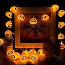 رخيصةأون أضواء شريط LED-3 متر 9.8ft هالوين اليقطين فانوس سلسلة أضواء 20 led زخرفة حزب مهرجان هالوين الشكر بطارية عيد الميلاد بالطاقة