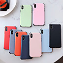 cheap iPhone XR Screen Protectors-Apple Suitable for XS Max/XR/X liquid silicone 6/7/8 Four-corner Anti-drop 6 Plus/7 Plus/8 Plus Matte Phone Case