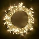 رخيصةأون أضواء شريط LED-BRELONG® 10m أضواء سلسلة 100 المصابيح مصلحة الارصاد الجوية 0603 أبيض دافئ / RGB / أبيض حزب / ديكور / قابلة للربط 220-240 V / 110-120 V 1PC / IP65