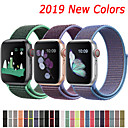 voordelige Apple Watch-bandjes-nylon band voor Apple horlogeband 44 mm 40 mm 42 mm 38 mm sport lus armband armband voor Apple Watch serie 5/4/3/2/1 accessoires