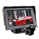 voordelige Auto DVR's-ziqiao auto 8 led-verlichting achteruitrijcamera met 4,3 inch schermweergave