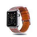 voordelige Apple Watch-bandjes-Horlogeband voor Apple Watch Series 4 / Apple Watch Series 3 / Apple Watch Series 2 Apple Sportband Stof / Silicone Polsband